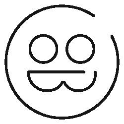 Logo 圓框
